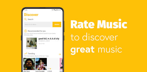 Rate music online