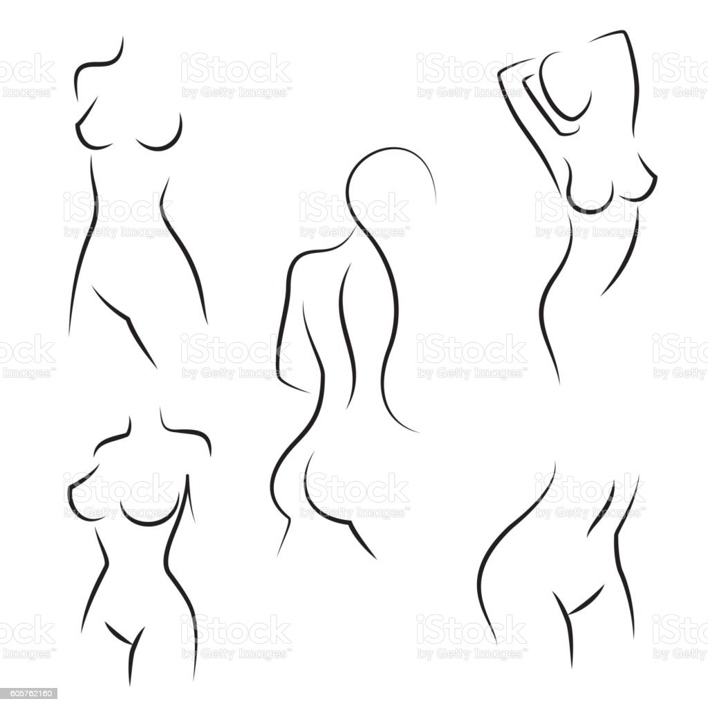Best silhouette breasts nude