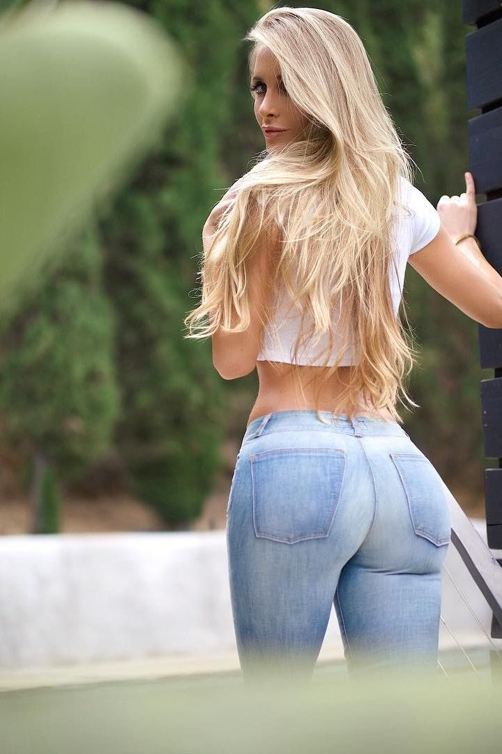 Thick women in jeans nude
