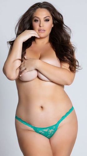 Hot bbw nude in thong