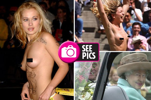 Naked pictures of royals